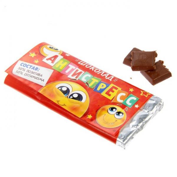 """Шоколад """"Антистресс"""" 90 г"""