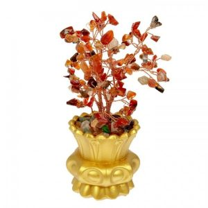 Бонсай «Самоцветы в вазоне», 120 камней, МИКС