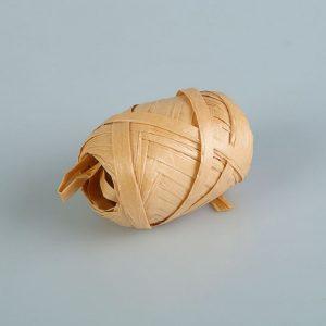 Рафия перламутровая персиковая, 3.5 мм х 10 м   1594255