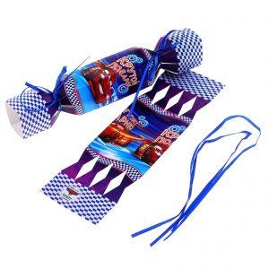 "Складная коробка-конфета ""Крутому парню"", Тачки, 11 х5 см"