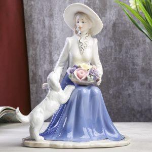Сувенир «Дама с цветами...