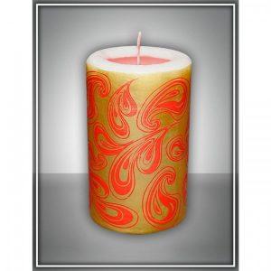 Свеча интерьерная красная арома медитация №7   1612416