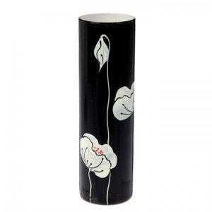 Ваза «Чёрно-белые цветы»...