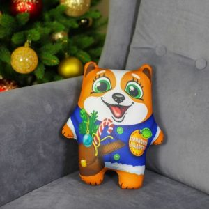 Мягкая игрушка-антистресс «Приношу радость» песик