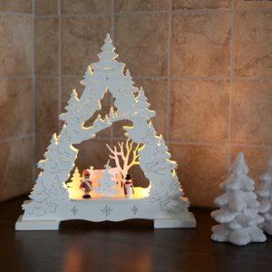 Декорация рождественская ДЕРЕВО белый