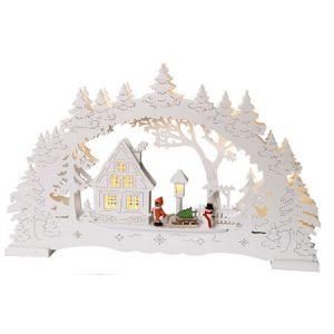 Декорация рождественская ДЕРЕВНЯ