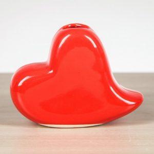 Ваза «Сердце» красное...