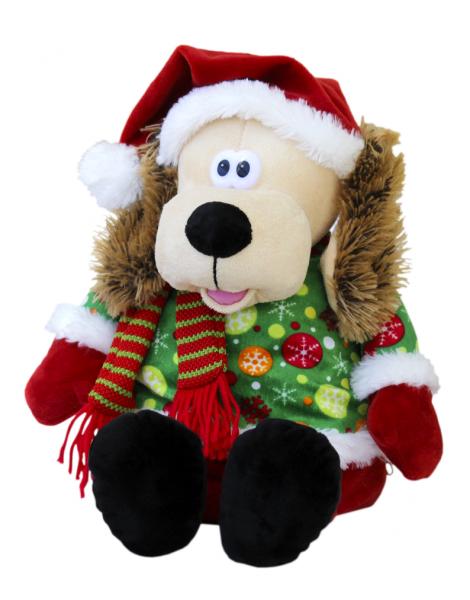 Новогодний подарок №4468 «Рюкзак Пес Санта» 1000 г   Суперпредложение