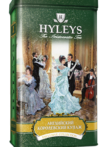 Чай «Хэйлис» ж/б 125г*20 Англ. корол. купаж  чёрн.  чай с раст.добав.