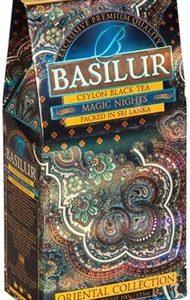 Чай «Basilur» «Oriental Collection» карт. 100г*24шт. Magic Nights  черн. Волшебные ночи new