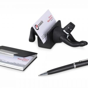 Набор: блекмэн Энди, визитница, ручка шариковая, черный