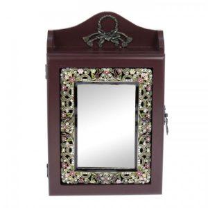 Ключница ажурная «Падишах» с зеркалом