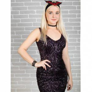 Карнавальный костюм  «Жена дракулы»