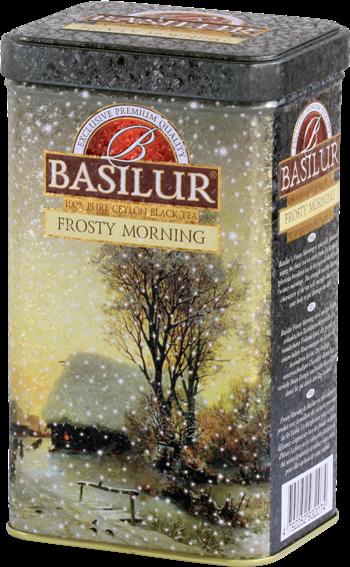 BASILUR  - FESTIVAL -  TIN- LT- FROSTY MORNING  - 85G X 6 X 6