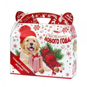 Новогодняя упаковка Верный друг 1000 г