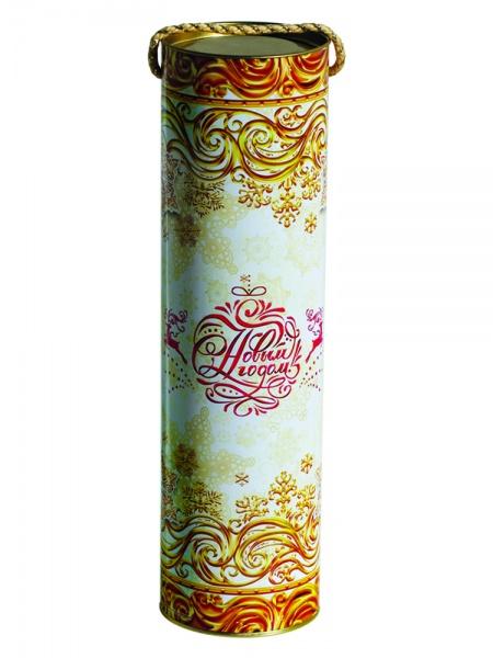 Новогодний подарок №8 «Белое золото» туба 1000 г   премиальный (без карамели)
