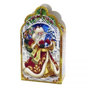 «Дед Мороз с подарками» №1 новогодний подарок 300г