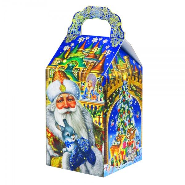 Новогодняя упаковка БАУЛ ДВОРЕЦ МОРОЗА 2000 - 4000Г
