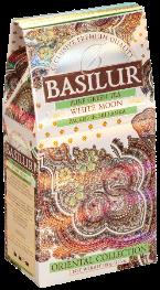 Чай «Basilur» «Oriental Collection» карт. 100г*24шт. White Moon  зел.(молоч.) улун Белая Луна new