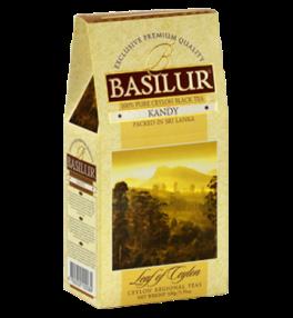 Чай «Basilur» «Leaf of Ceylon» карт. 100г.*24, Kandy (Лист Цейлона Канди) черн. лист