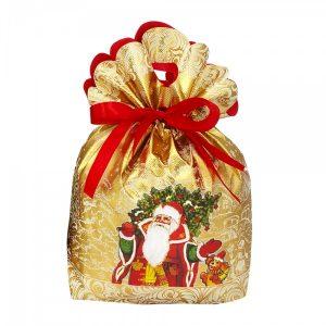 Новогодний подарок №8 «Мороз Иванович (золотой)» 1000 г   премиальный (без карамели)