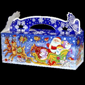 Новогодняя упаковка Снежинка