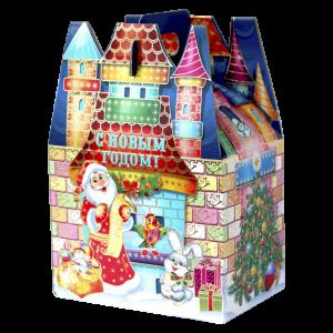 Новогодняя упаковка Радужный замок