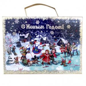 Складной Чемоданчик Рождественские Катания 1500 г