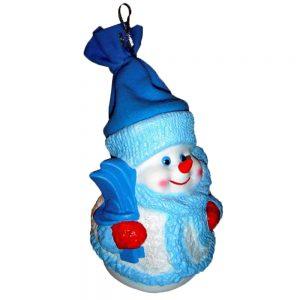«Снеговик Снежинкин»  №4 новогодний подарок 1000г