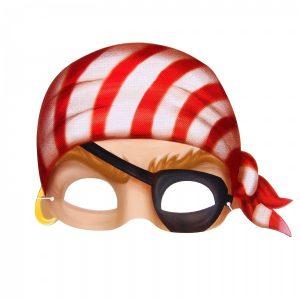 Маска карнавальная «Пират»