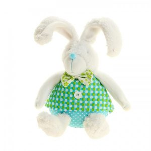 Декор «Зайчишка в зелёной рубашке»