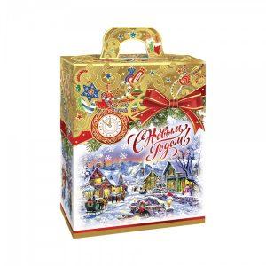 Новогодний подарок №5 «Золотое рождество NEW» 700 г  премиальный