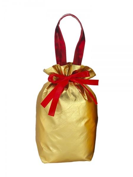 Новогодний подарок №10 «Золотой» мешочек 1500 г   отличный