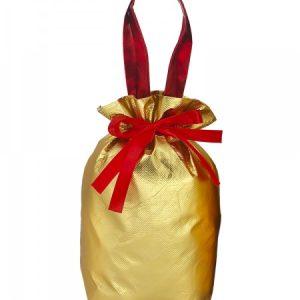 Новогодний подарок №5 «Золотой» мешочек — металл 700 г   премиальный