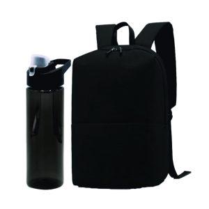 Корпоративный подарок №20 (рюкзак + спортивная бутылка)