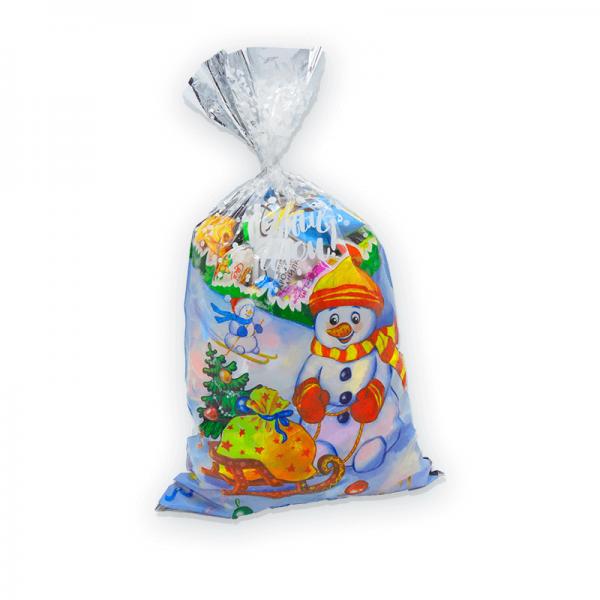 """Пакет Новогодний""(микс) №3 новогодний подарок  700г"