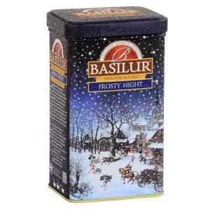 Чай черный Basilur Морозная Ночь 85 г (ж/б)