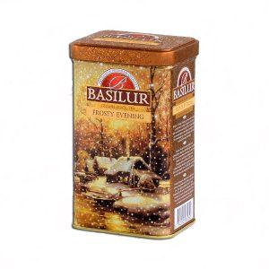 Чай черный Basilur Морозный Вечер 85 г (ж/б)