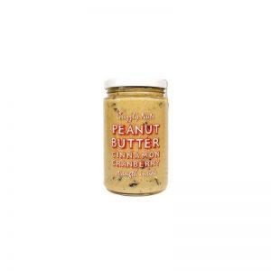Арахисовая паста с вяленой клюквой Cinnamon Cranberry, 370г, «GRIZZLY NUTS»