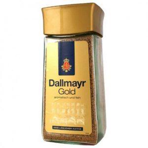 Растворимый кофе Dallmayr Gold 100 г (стекло)