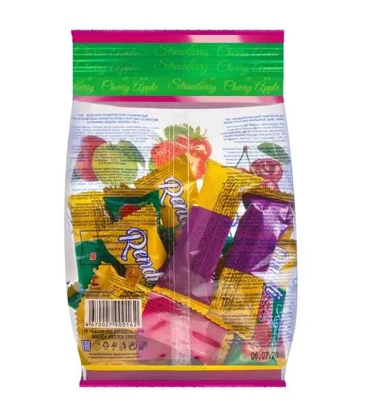 Мультизлаковые конфеты Rendi Fruit Mix (клубника,вишня, яблоко) 150г