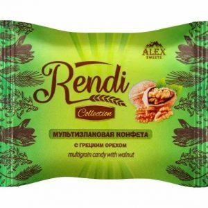 Мультизлаковые конфеты Rendi Collection с грецким орехом