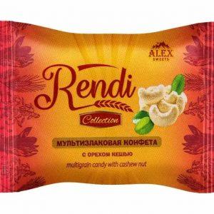 Мультизлаковые конфеты Rendi Collection с орехом кешью