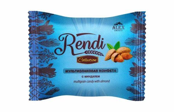 Мультизлаковые конфеты Rendi Collection с миндалем