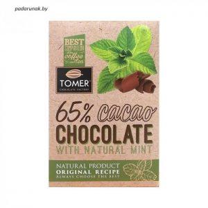 Шоколад горький с мятой...