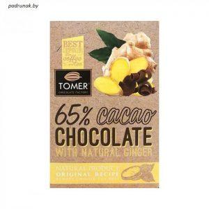 Шоколад горький с имбирем...