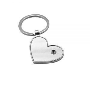 Брелок металлический «Сердце»