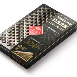 Шоколад  горький 100% , 90...