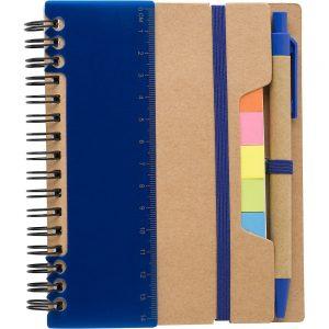 Блокнот с ручкой для заметок со стикерами V2991 – Синий HH