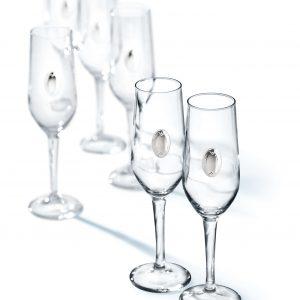 Набор фужеров для шампанского...